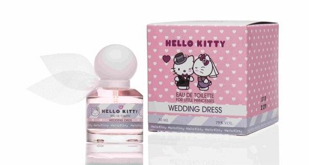 ооо понти парфюм туалетная вода серии Hello Kitty Wedding Dress