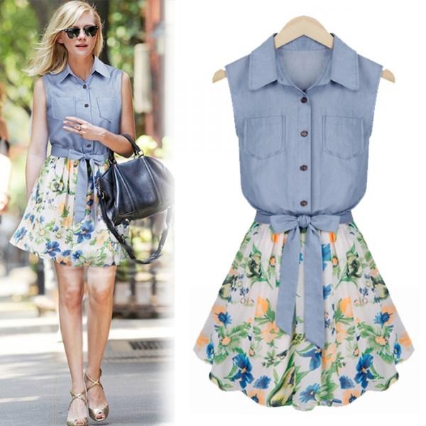 Платье на лето юбка солнце