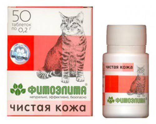фитоэлита чистая кожа для кошек инструкция