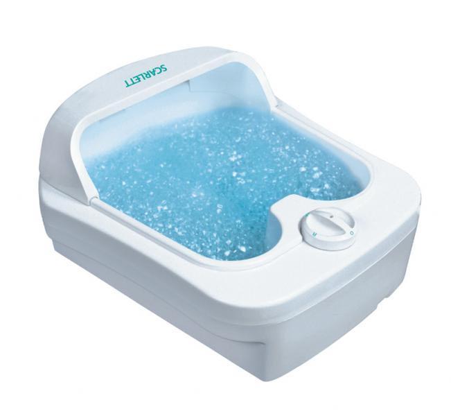 ванночка для ног скарлет инструкция
