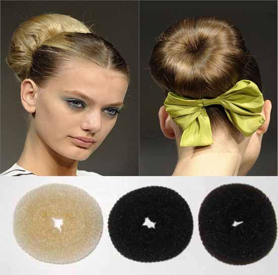 Дульки из волос фото