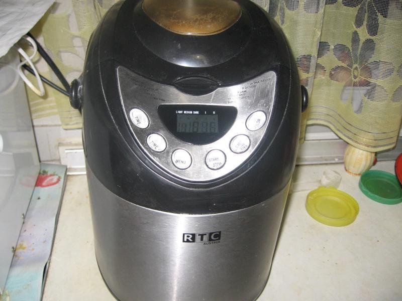 Инструкция автомат для выпечки хлеба rtc bm5