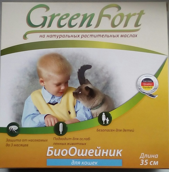 биоошейник greenford отзывы