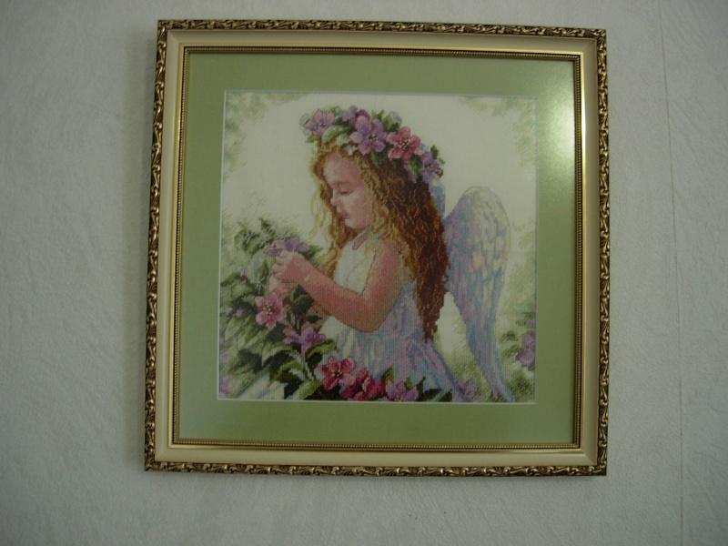 Инструкция ангел цветочный