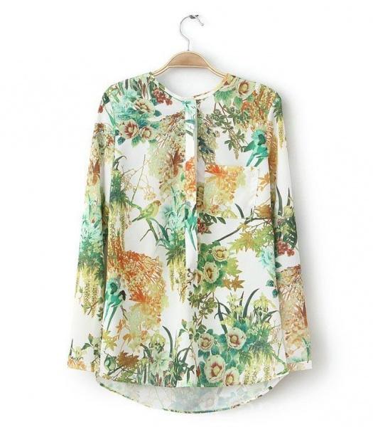 Блузка С Птицами В Санкт Петербурге