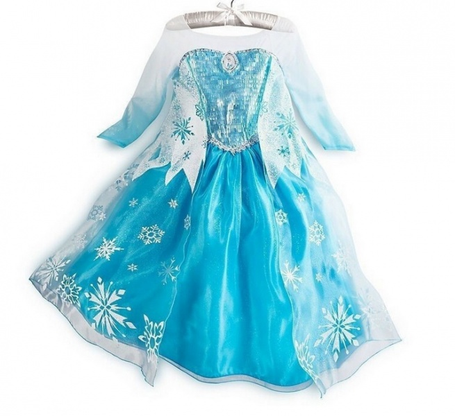 Светящееся платье холодное сердце