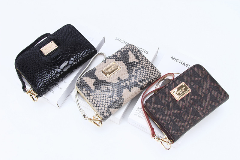 4b008a751fef Кошелек Michael Kors zipper wallet case for iphone 5 на Aliexpress фото