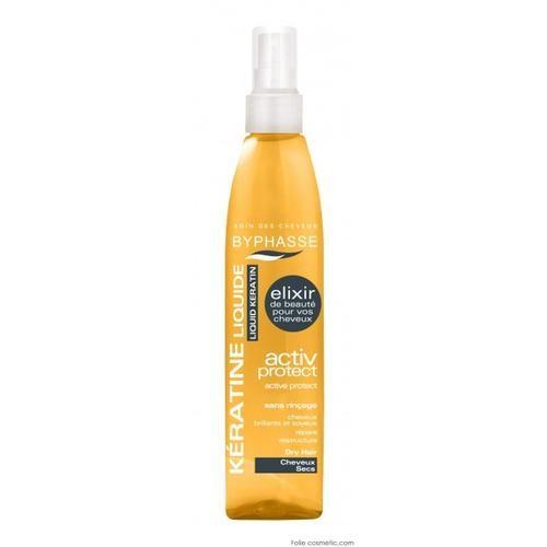 Spray keratine cheveux