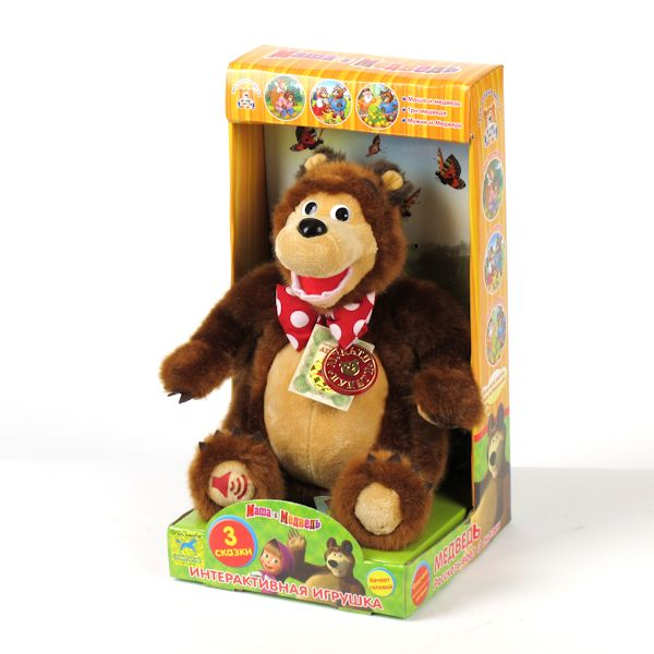 Маша и медведь интерактивная игрушка