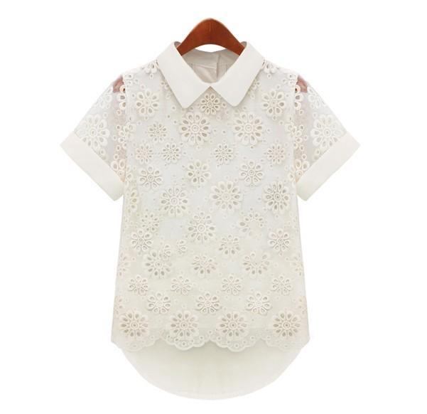 Блузка на первое сентября