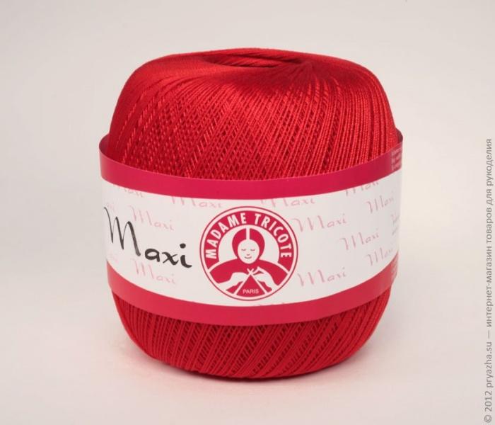 пряжа Madame Tricote Maxi отзывы покупателей