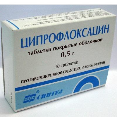 фото таблетки ципрофлоксацин