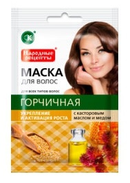 Маска для волос масло и мед