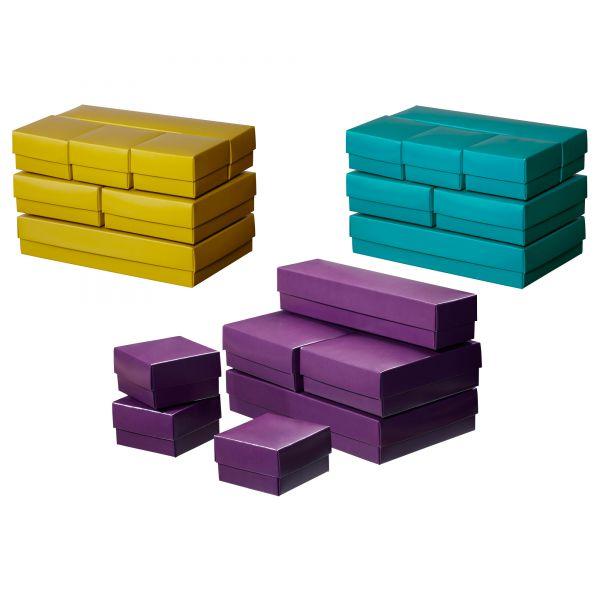 VAMMEN - kastīšu komplekts. Zils vai violets