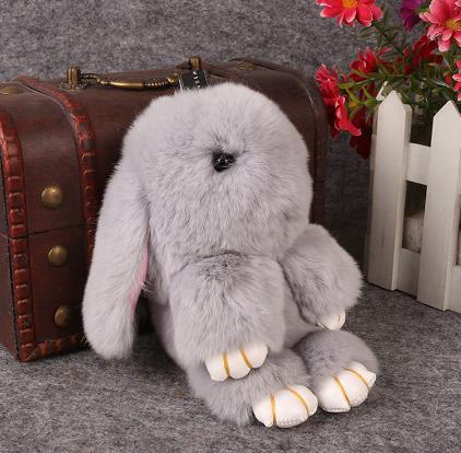 Брелоки из меха кролика своими руками 897