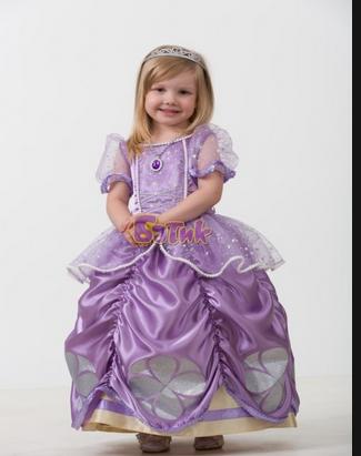 Сшить платье принцесса софия