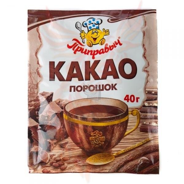 Какао с порошком