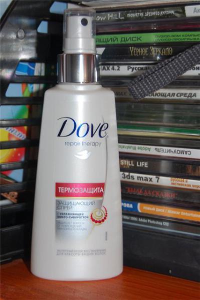 Спрей dove для волос отзывы