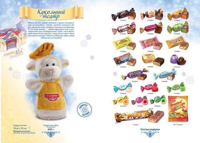Кондитерская фабрика яшкино новогодние подарки 43