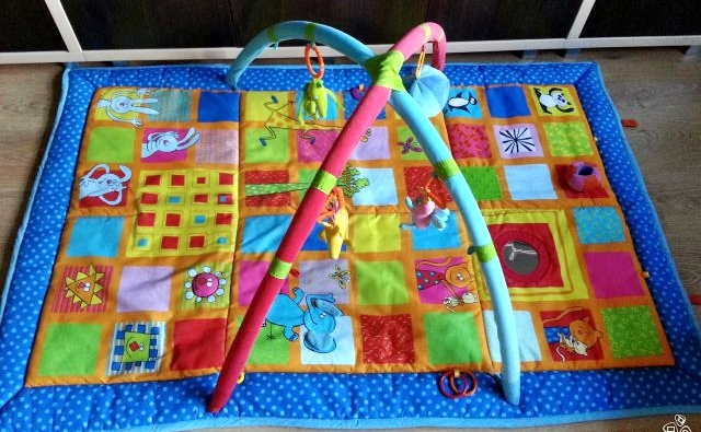 Большой коврик для детей своими руками