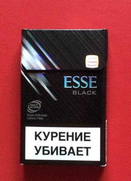 эссе блэк сигареты купить