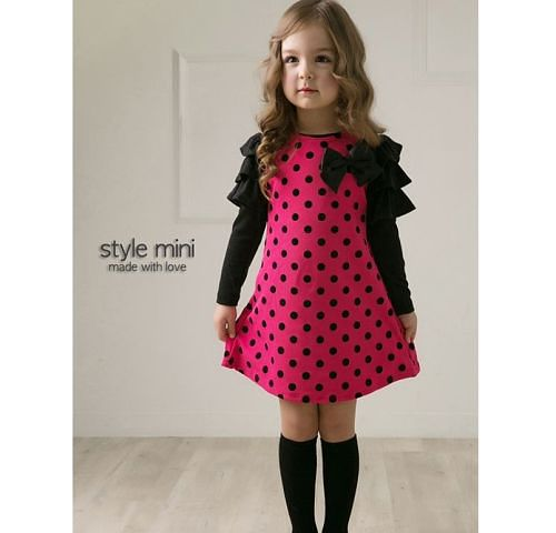 deb420e9c0c Платье детское AliExpress Платье в горошек new 2014 4pcs girls red dots  dress childrens dot bow dresses - отзывы