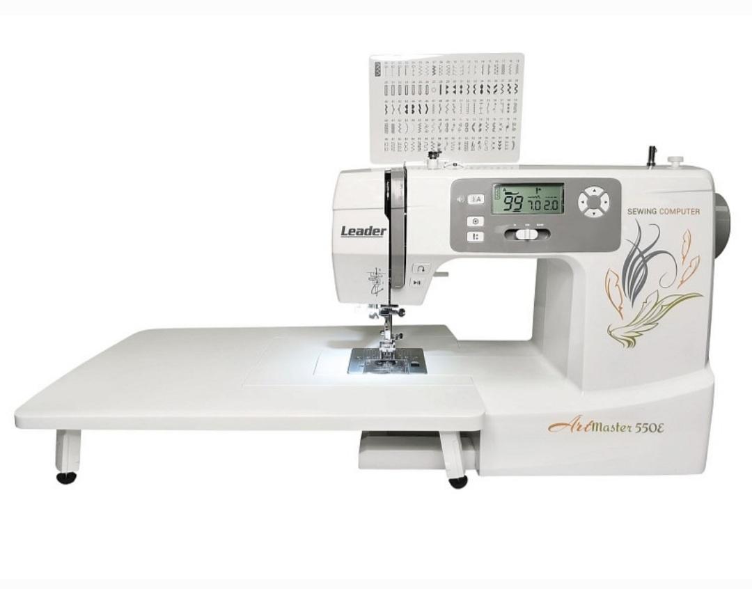 Швейная машина leader artmaster 550e ткань для садовой мебели