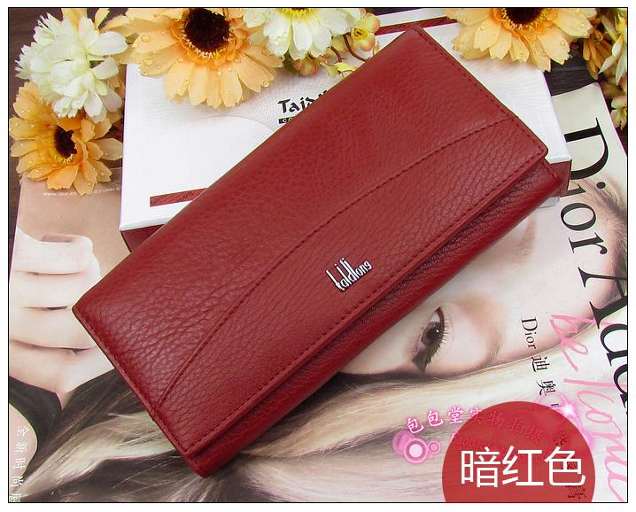 Кошелек Aliexpress Genuine leather wallet women s wallet clutch long design  clip wallet Long Wallets Coin Purse Bag - отзывы 1d1d0e449242a