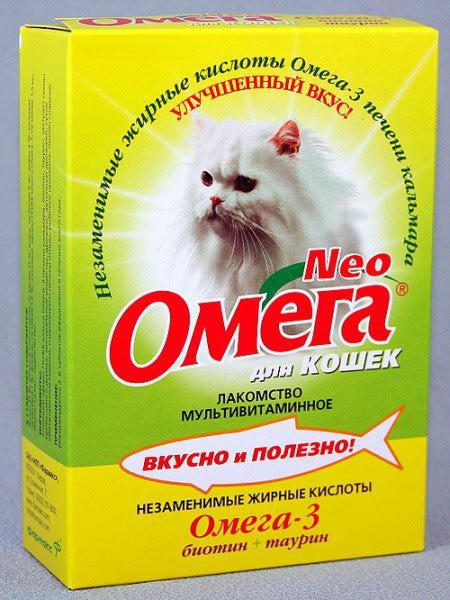 омега для кошек инструкция по применению