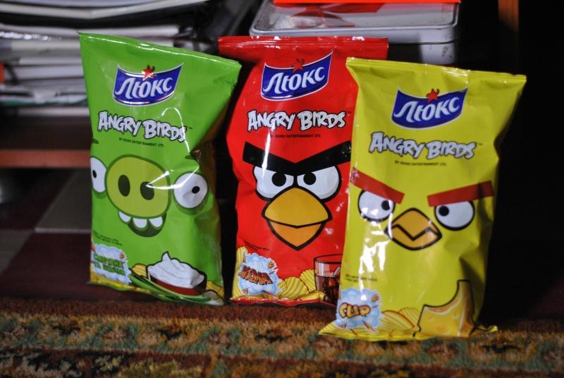Чипсы Люкс Angry Birds   Отзывы покупателей Люкс Чипсы
