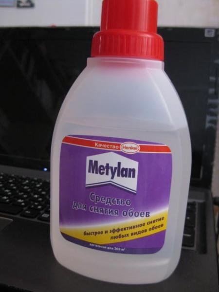 метилан для снятия обоев инструкция