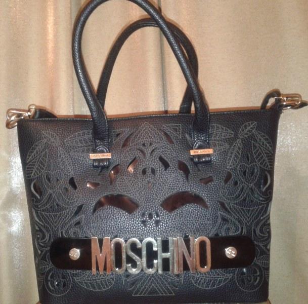 2bd102e74f0a Сумка Moschino черная женская (копия)   Отзывы покупателей
