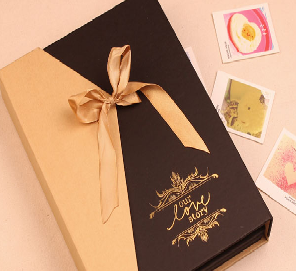 c386d3be30 Фотоальбом Aliexpress Free shipping new gift boxes diy photo album wedding  South Korea original manual paste