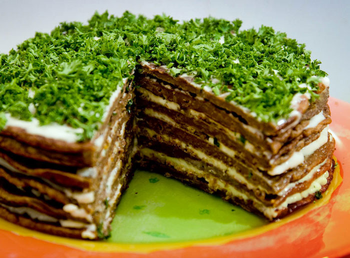 Рецепт торт печеночный с фото