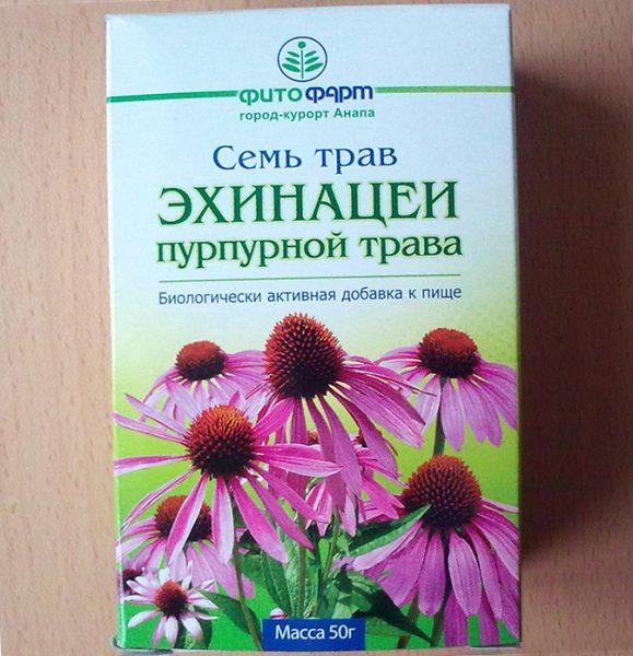 Лекарственные травы фитофарм эхинацеи пурпурной трава | отзывы.