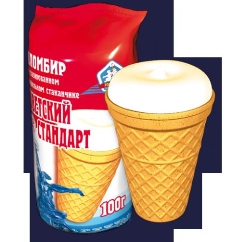 Как сделать стаканчик для мороженого 124