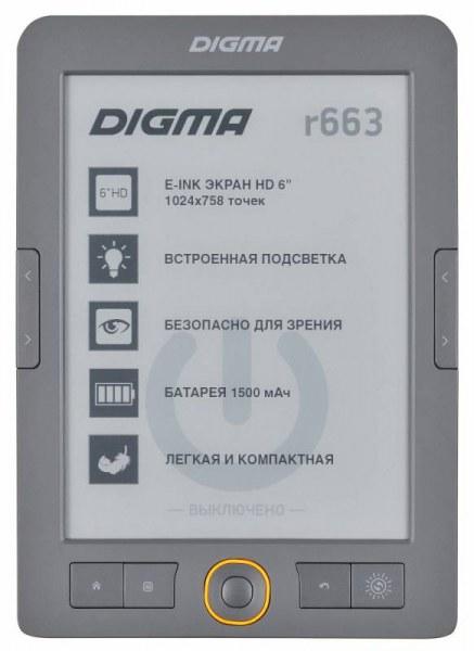 f914db1c162b Электронная книга Digma R663   Отзывы покупателей