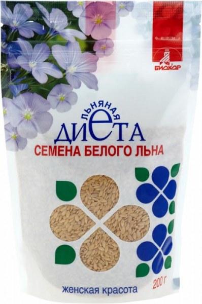 """Отзывы о семена льна биокор льняная диета """"женское здоровье""""."""