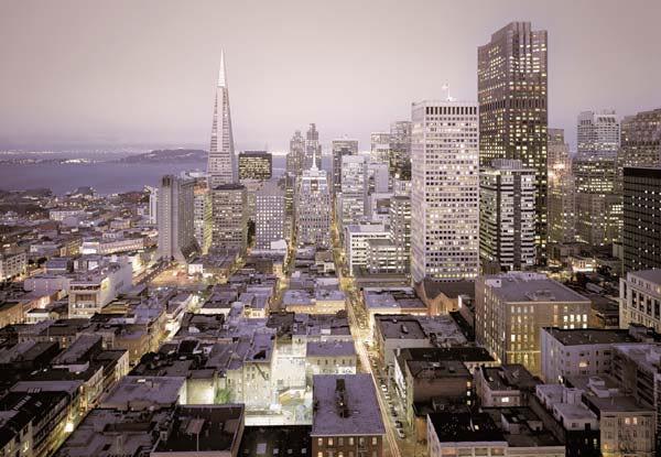 фотообои с видом города: