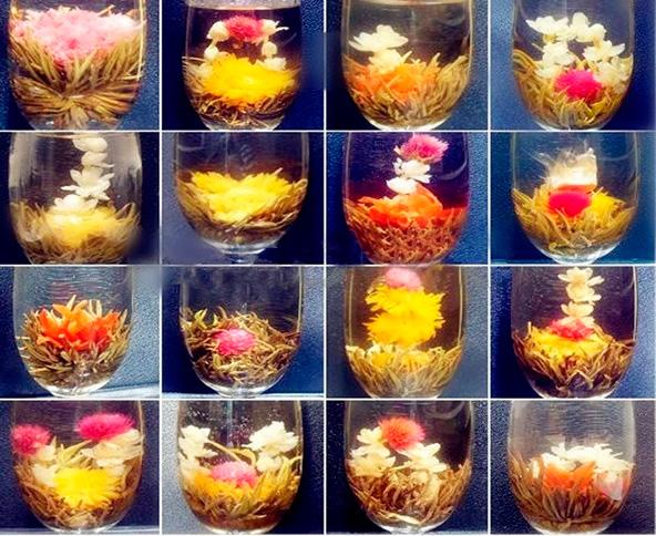 Чай который раскрывается как цветок название