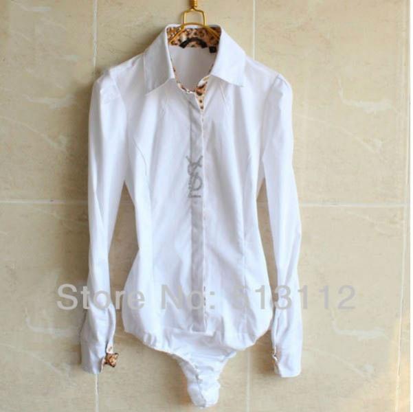 Блузка Белая Боди Доставка