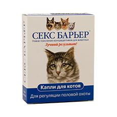 Сексбарьер у котов