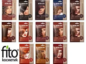 Крем-хна для волос fito косметик