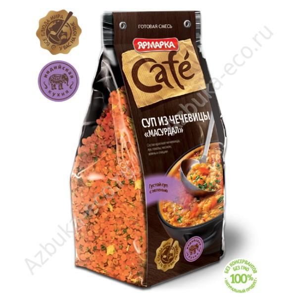 09f6835791c1 Сухая смесь для приготовления супа Ярмарка Cafe Суп из чечевицы