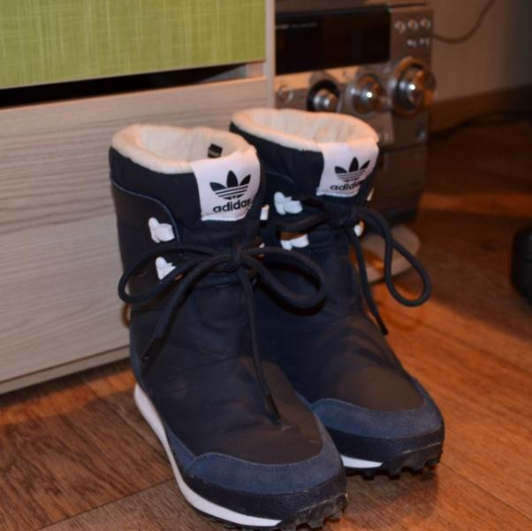 Зимние женские дутики Adidas Originals SNOWRUSH W   Отзывы покупателей 0bb691b5e2f