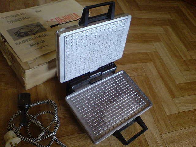 Электровафельница инструкция