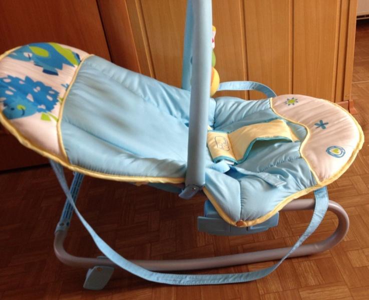Шезлонг для новорожденных с какого возраста