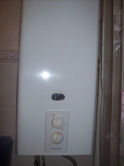 газовая колонка Electrolux Gwh 275 Rn инструкция - фото 5