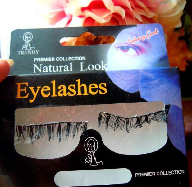 Накладные ресницы natural look eyelashes