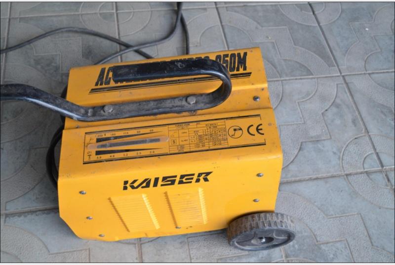 Сварочный аппарат кайзер 160м турбо отзывы работа со сварочными аппаратами